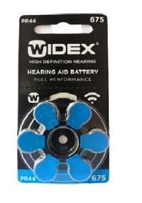 Widex battery 675 P44