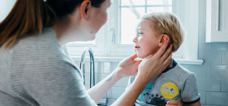 Pediatric audiologist